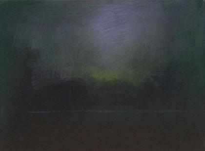Ascheplatz, Öl/Leinwand, 40 x 30 cm, 2015
