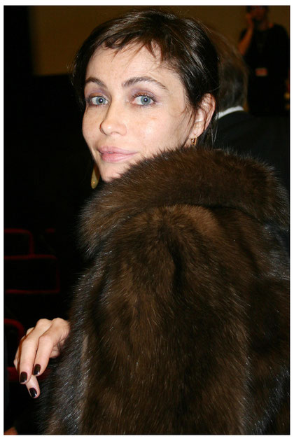 Emmanuelle BEART - Festival de Cannes  2010 - Photo © Anik COUBLE