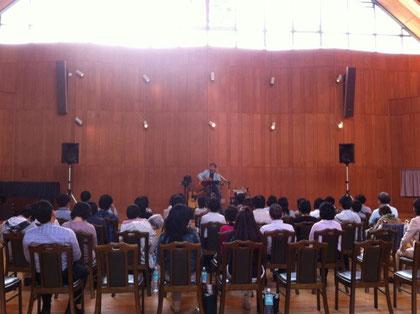 音楽堂にて2011.5.22