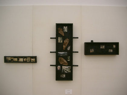 記憶の箱 1m×2m ミクスド 2011年3月 64th日本アンデパンダン展 東京・国立新美術館