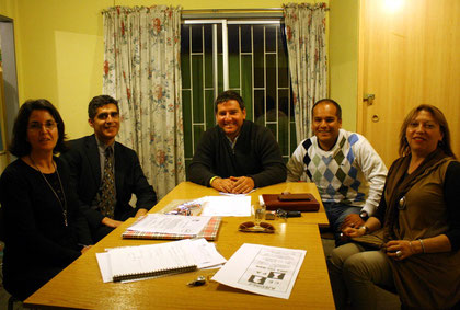 Concejal electo Jaime Varas de visita en el Club CEPA , aqui junto a la directiva de nuestra organización. 26 oct.2012