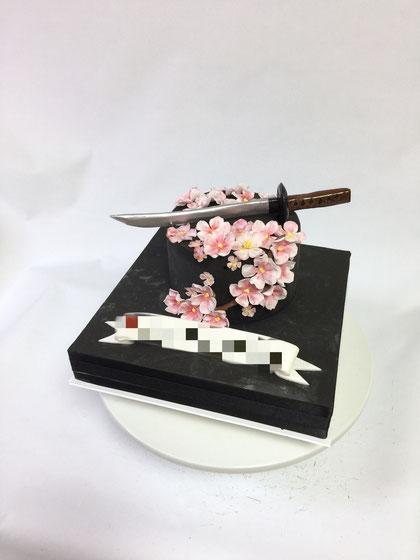 侍ケーキ🏯🌸samurai cake