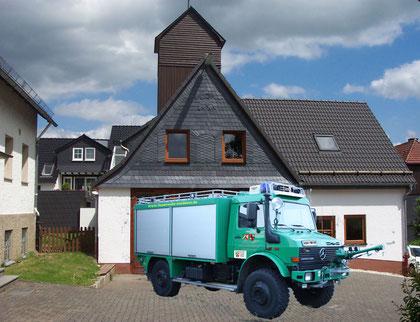 Das neue Waldbrand Tanklöschfahrzeug