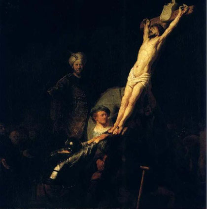 Rembrandt-1633 L Erection De La Croix,munich