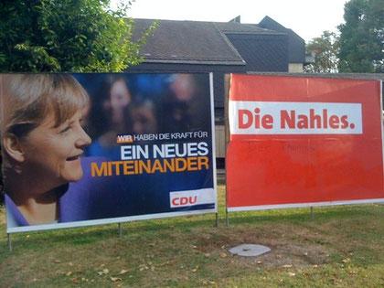 Ist da doch noch Glut in der Asche der Großen Koalition? In Andernach demonstrieren CDU und SPD eher unfreiwillig traute Einigkeit.