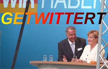 """""""Wir haben die Kraft"""" - nee, """"getwittert"""". Diese nicht ganz wahre Behauptung auf seinem """"Twitpic"""" hat uns Benjamin Weber geschickt."""