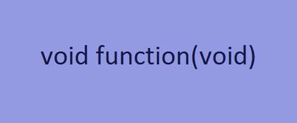 Eine einfache Funktion