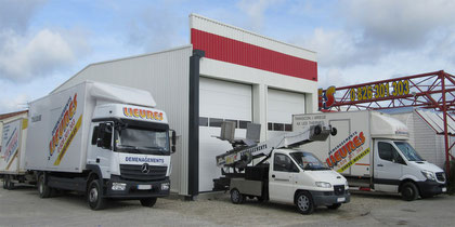 box stockage-garde meuble Pamiers Lieures Transports