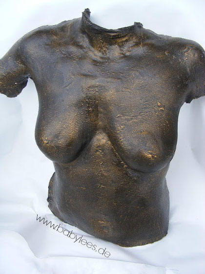 "Gips Torso ""Bronze"""