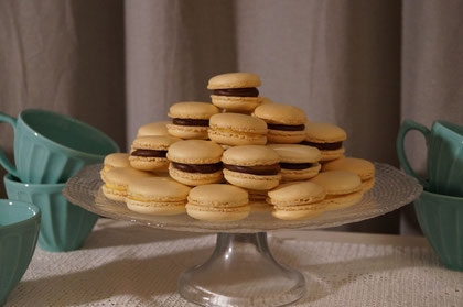 Cooking courses in Wiesbaden - Chocolate and salted caramel macarons