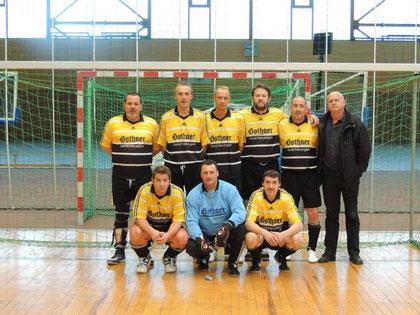 o.l.: Michael Schöpp, Ralf Niemann, Dieter Rohlfshagen, Otto Ganske, Benedict Haberer, Jürgen Hamm u.l.: Claus Ködel, Uwe Herges, Frank Mannbar