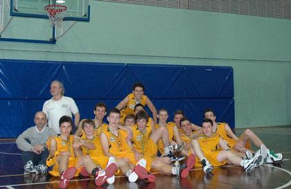 L'Under17 bi-campione (Provinciale e Regionale) 2011-2012