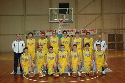La prima squadra della stagione 2011-2012