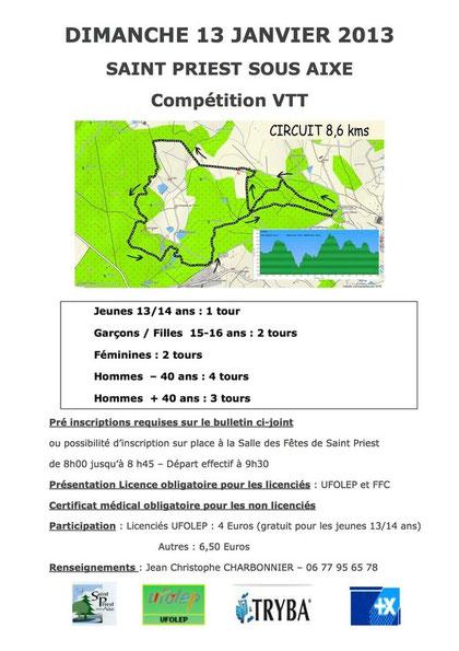 Compétition VTT