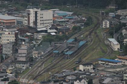 JR  阿波池田駅