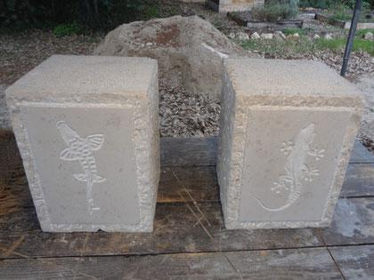 pieds-banc-pierre-gravure-carpe-gecko
