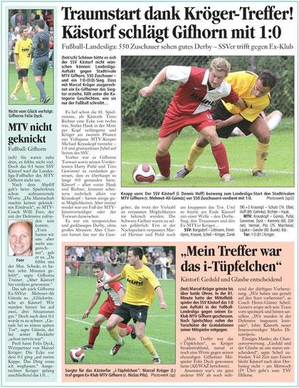 (Quelle: Aller-Zeitung vom 09.08.2010)