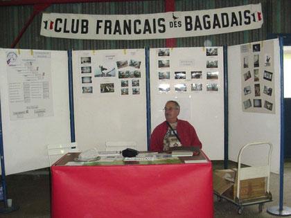 Stand du club des Bagadais Français