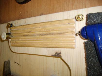 Gerät zum herstellen von Dubbing- Strängen