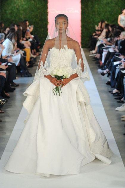 Robe de mariée Oscar de la Renta 2015