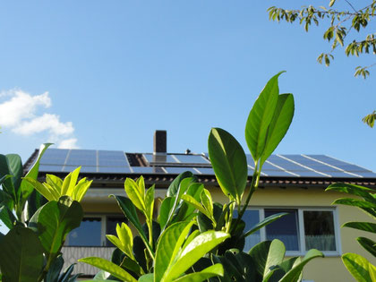 Privathaus 7 kwp, 35x Suntech STP200-18/Ud, 1y SMA SB2100TL, 1x SMA SB4000TL-20, 1x SolarLog500BT