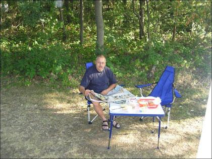 Campingplatz in der Nähe von Dresden