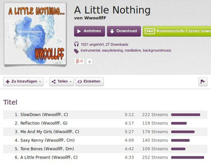 A Little Nothing - über 1000 Plays...