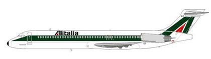 Leider setzten Alitalia keine MD-87 ein/Courtesy and Copyright: md80design