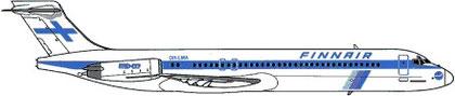MD-87/Courtesy: Finnair