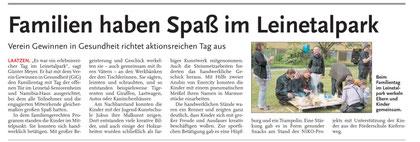 Leine-Nachrichten v. 06.07.2010