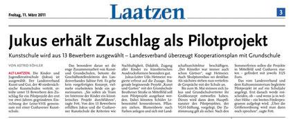 Leine-Nachrichten v. 11.03.2011