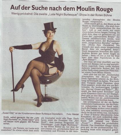 Nürnberger Nachrichten, 30.11.09