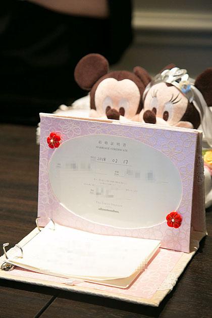 カルトナージュで作る結婚式用ゲストブック