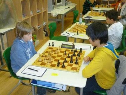 Runde 4, Niklas gegen Felix Ning