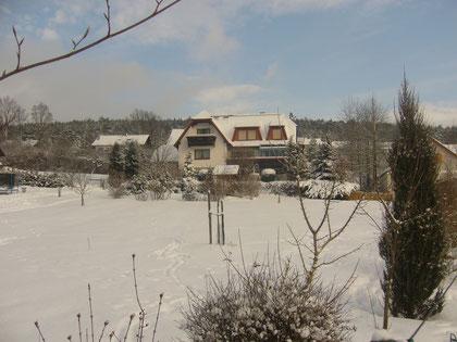 Auch im Winter ist es herrlich in Bad Bocklet. Frische, saubere Luft - eine Wohltat für Körper und Geist!