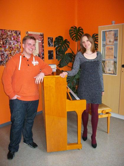 Friederike Bieber und Sören Eberbach fahren vom 11.bis 13.April 2013 zum 9.Nationalen Gesangswettbewerb nach Gliwice