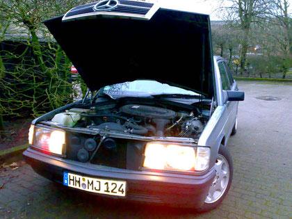 2,3 Liter Motor