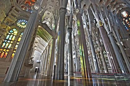 Wald der Säulen ( Quelle: wikimedia commons - Autor: sagrada família oficial)