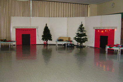 The double Christmas setup