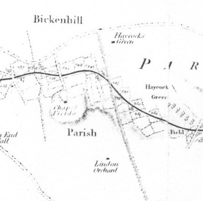 Enlargement of part of the plan