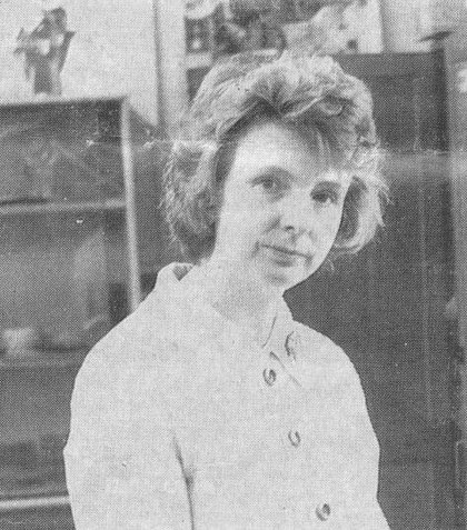 Barbara Cherry photographed in 1973