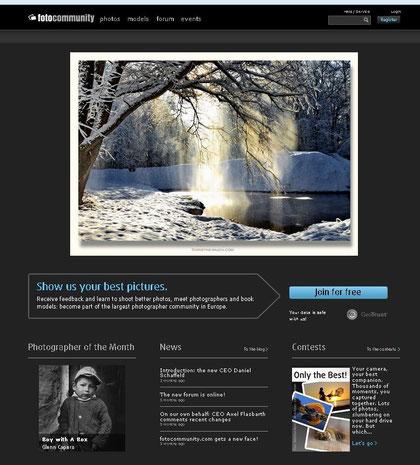 """Mein Foto """"when the sun comes out, snow is falling..."""" wurde am 10.02.2013 von 14:00 bis 16:00 Uhr auf der Startseite von http://www.fotocommunity.com/ präsentiert.... ;-)"""
