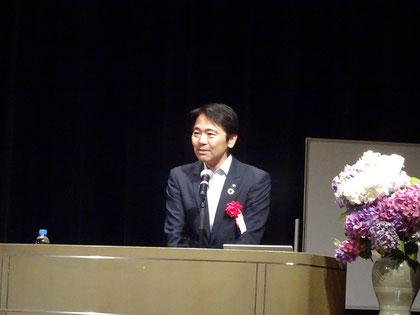 松尾崇鎌倉市長からの祝辞
