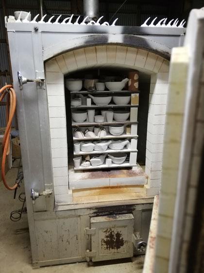 陶芸家のブログ 陶芸家 陶芸 笠間焼き 窯焚き