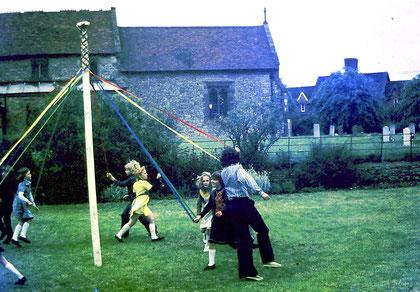 Mayday, 1975 (?) (photo: Jo Fell)