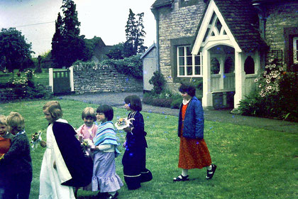 Children of village1975 (?) (photo: Jo Fell)