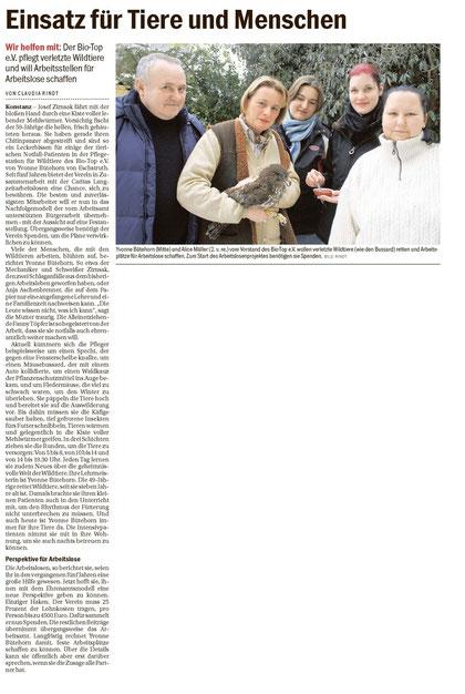 Südkurier - 10.12.2010