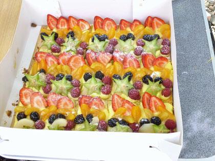 Magnifique et délicieuse tarte