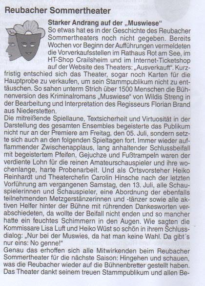 RST-Abschlussbericht im Mitteilungsblatt vom 19.07.2019 - Seite 1