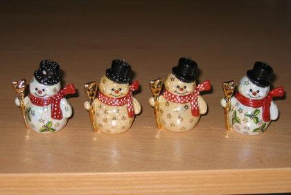Adorables petits bonhommes de neige
